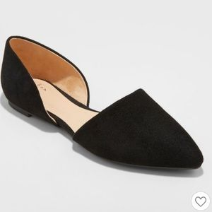 A New Day Rebecca Pointed Ballet Flats